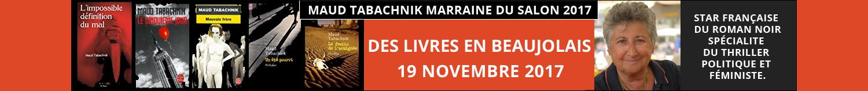 Des livres en Beaujolais Maud Tabachnik Marraine SDL 2017