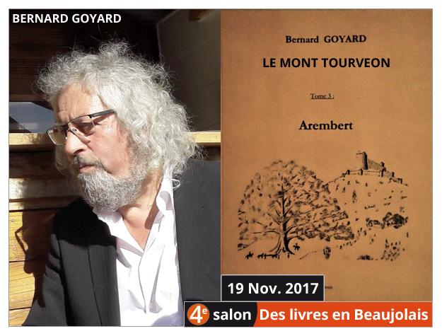 Bernard Goyard invité du 4e salon Des Livres en Beaujolais