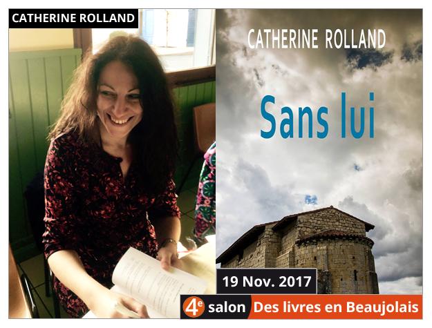 Catherine Rolland invitée du 4e salon Des Livres en Beaujolais