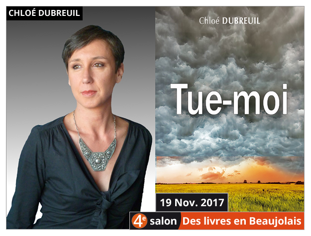 Chloé Dubreuil invitée du 4e salon Des Livres en Beaujolais