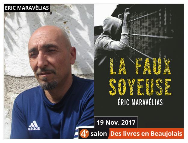 Éric Maravélias invité du 4e salon Des Livres en Beaujolais