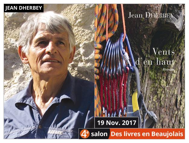 Jean Dherbey invité du 4e salon Des Livres en Beaujolais