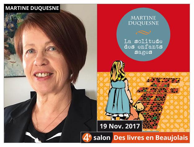 Martine Duquesne invitée du 4e salon Des Livres en Beaujolais