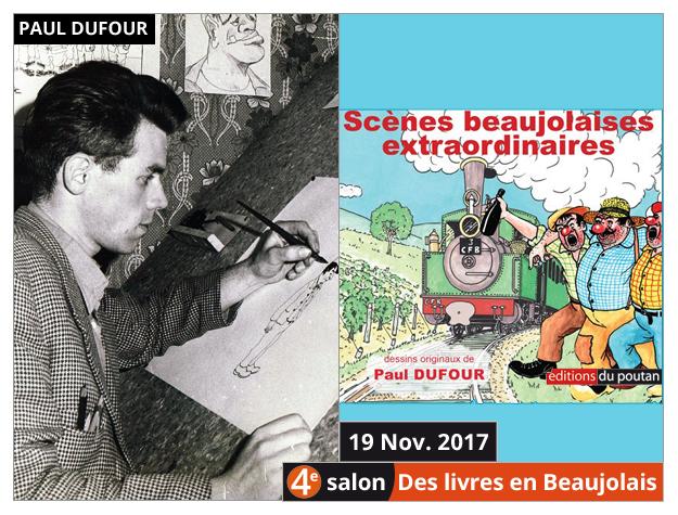 Paul Dufour invité du 4e salon Des Livres en Beaujolais