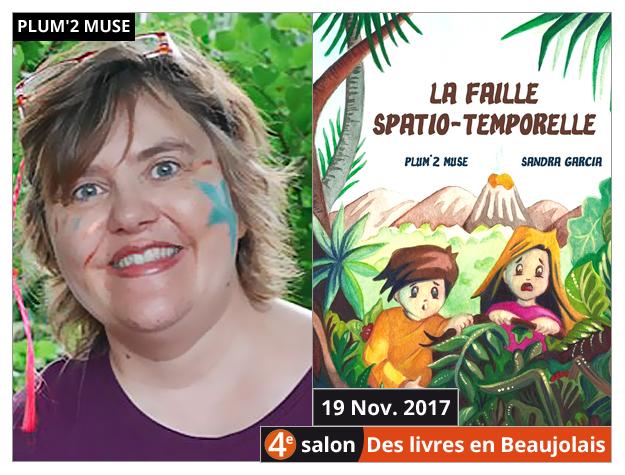 Plum'2 Muse invitée du 4e salon Des Livres en Beaujolais