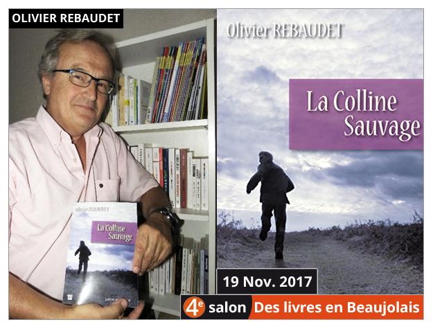 Olivier Rebaudet invité du 4e salon Des Livres en Beaujolais