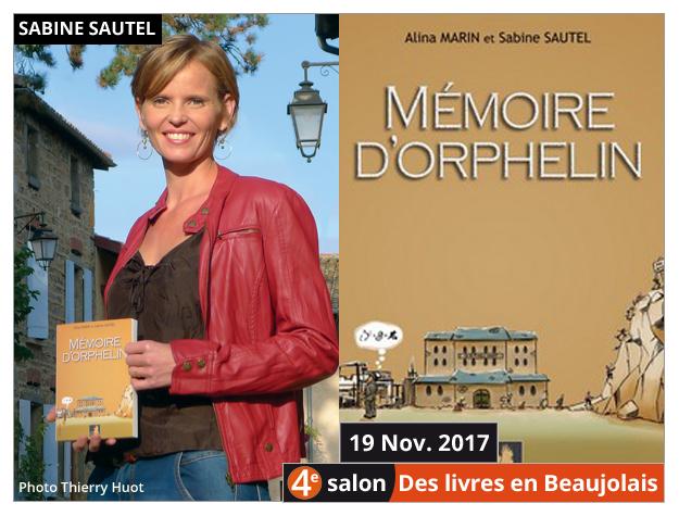 Sabine Sautel invitée du 4e salon Des Livres en Beaujolais