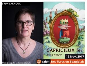 Sylvie Arnoux invitée du 4e salon Des Livres en Beaujolais