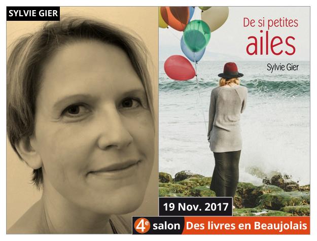Sylvie Gier invitée du 4e salon Des Livres en Beaujolais
