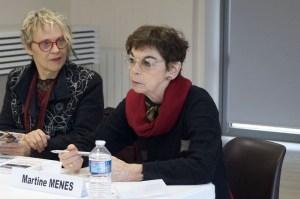 Christine Poirier et Martine Menès - Photo C-Vermorel