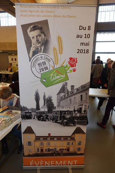 Centenaire Cibeins - Dédicace au Salon Des Livres en Beaujolais - Photo JJ Nicoud
