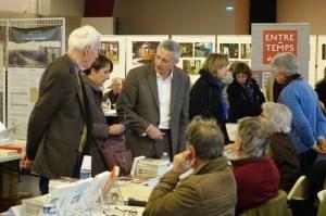 Michel Romanet Chancrin sur le stand des éditions du Poutan - Photo JJ Nicoud