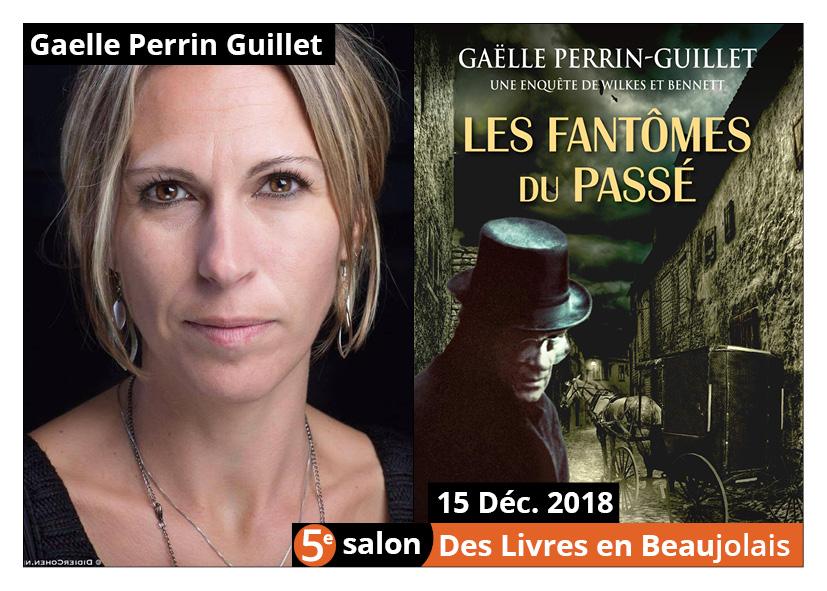 Gaëlle Perrin Guillet invitée d'honneur 5e salon Des Livres en Beaujolais
