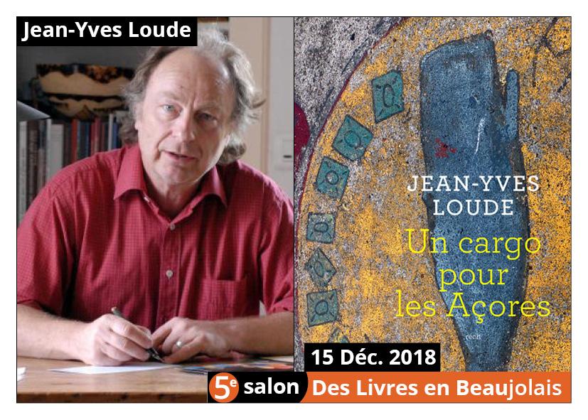 Jean-Yves Loude invité d'honneur du 5e salon Des Livres en Beaujolais