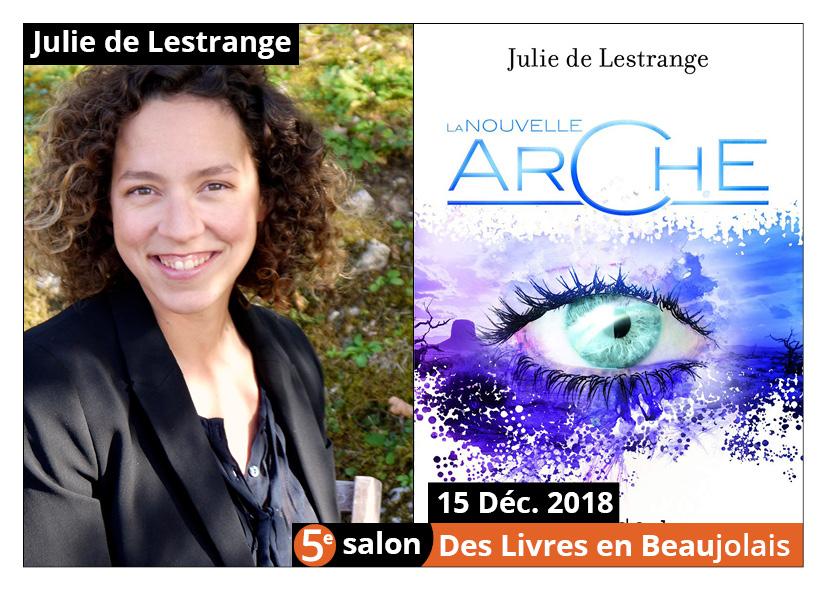 Julie de Lestrange invitée d'honneur du 5e salon Des Livres en Beaujolais