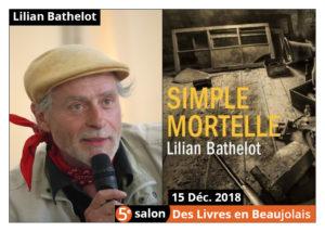 invitée d'honneur du 5e salon Des Livres en Beaujolais
