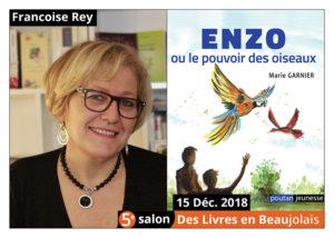 Marie Garnier invitée d'honneur du 5e salon Des Livres en Beaujolais