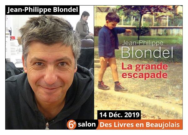Jean-Philippe Blondel - 6e Salon des Llivres en Beaujolais 20199
