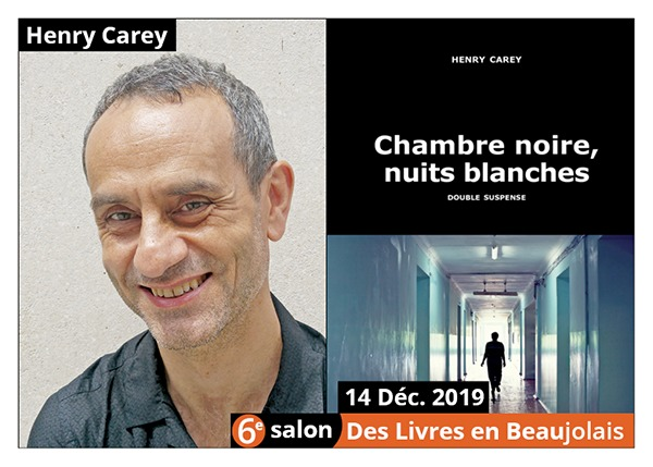 Henry Carey - 6e Salon des Livres en Beaujolais 2019