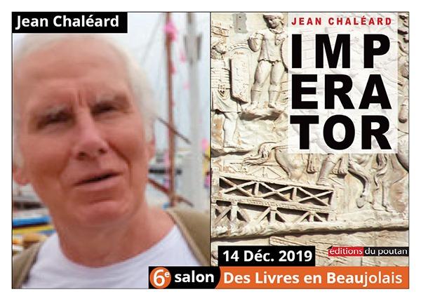 Jean Chaléard - 6e Salon des Livres en Beaujolais 2019