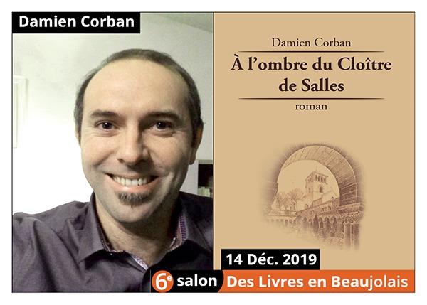 Damien Corban - 6e Salon des Livres en Beaujolais 2019