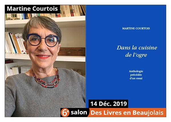 Martine Courtois - 6e Salon des Livres en Beaujolais 2019