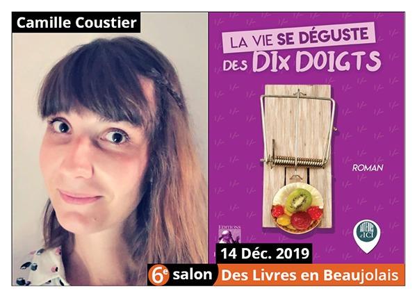 Camille Coustier - 6e Salon des Livres en Beaujolais 2019