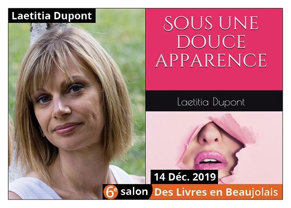 Laetitia Dupont  - 6e Salon des Livres en Beaujolais 2019