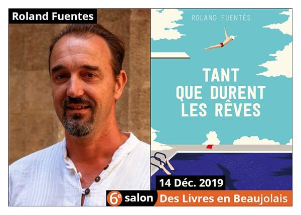 Roland Fuentes - 6e Salon des Livres en Beaujolais 2019