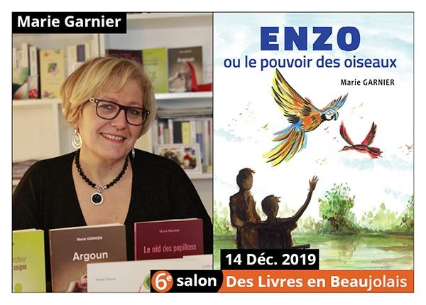 Marie Garnier - 6e Salon des Livres en Beaujolais 2019