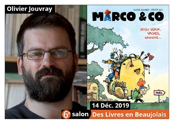 Olivier Jouvray - 6e Salon des Livres en Beaujolais 2019