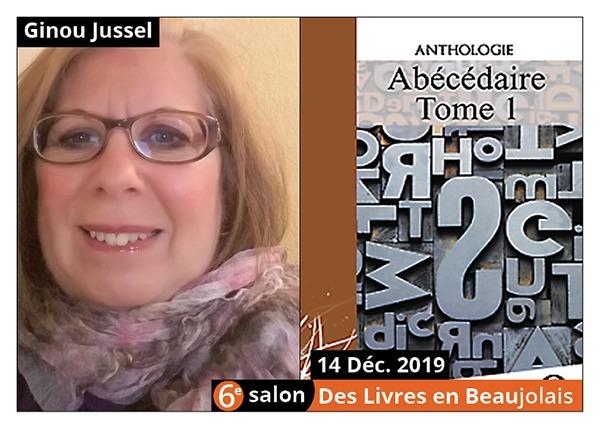 Ginou Jussel - 6e Salon des Livres en Beaujolais 2019