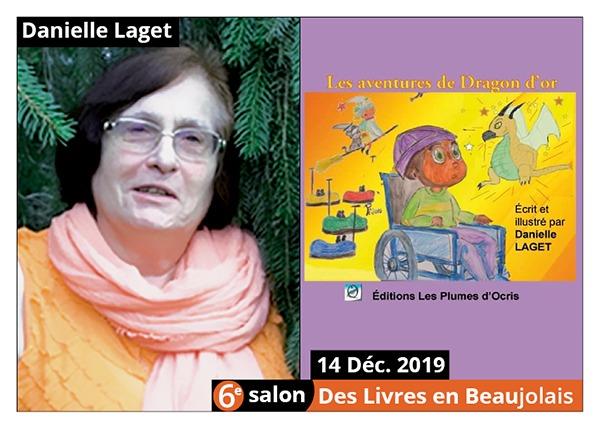 Danielle Laget - 6e Salon des Livres en Beaujolais 2019