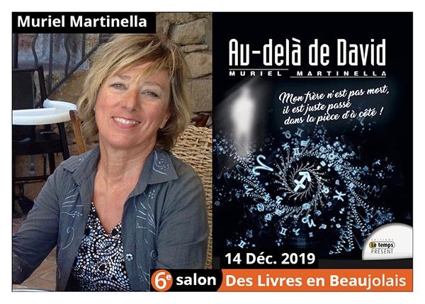 Muriel Martinella - 6e Salon des Livres en Beaujolais 2019