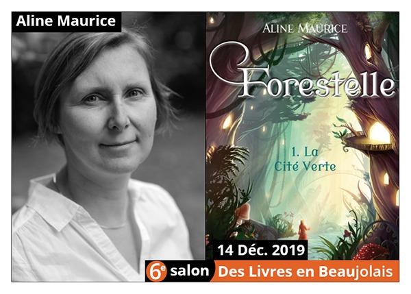 Aline Maurice - 6e Salon des Livres en Beaujolais 2019