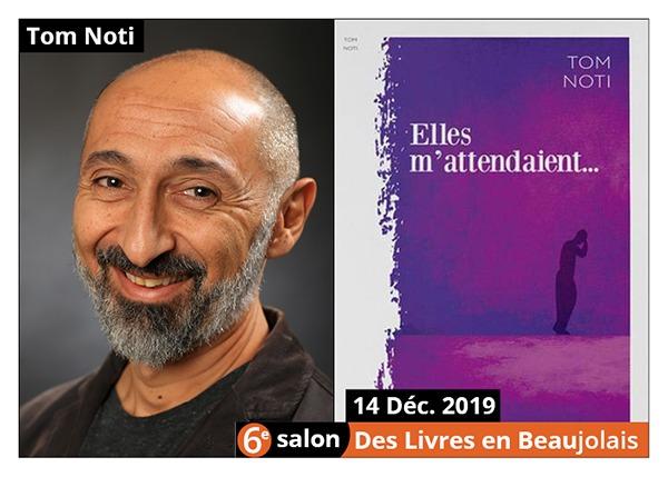 Tom Noti - 6e Salon des Livres en Beaujolais 2019