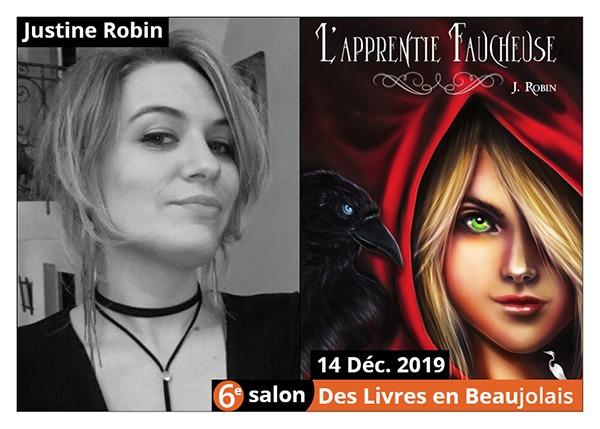 Justine Robin - 6e Salon des Livres en Beaujolais 2019