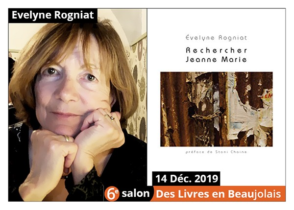 Evelyne Rogniat - 6e Salon des Livres en Beaujolais 2019