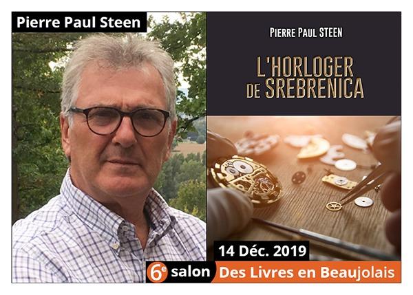 Pierre Paul Steen - 6e Salon des Livres en Beaujolais 2019