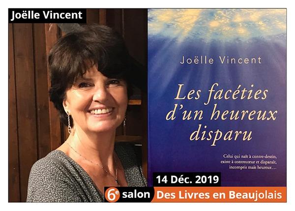 Joëlle Vincent - 6e Salon des Livres en Beaujolais 2019