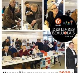 Retour sur le 6e salon Des livres en Beaujolais