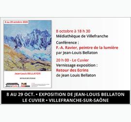 Conférence et exposition de Jean-Louis Bellaton