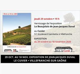 Exposition Le Beaujolais de Jean-Jacques Duval au Cuvier