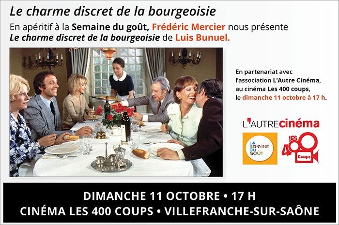 Frédéric Mercier présente : Le charme discret de la bourgeoisie.