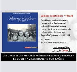 Des Livres et des Histoires présente Regards d'enfance...