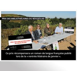 Prix des bibliothecaires du beaujolais home