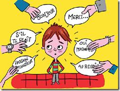 nous avons tendance à formuler un jugement positif dans le but de renforcer le comportement de notre enfant