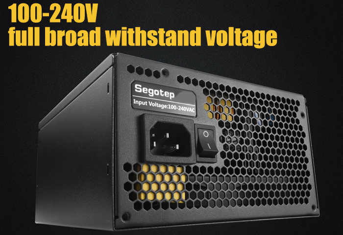 Segotep GP700G Power Supply 80 Plus Gold Full-module Version 600W for Computer