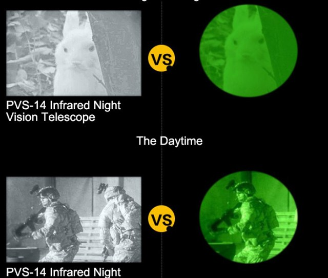 Infrared Night Vision Telescope With Bak 4 Prism Multilayer Coating 200m Field