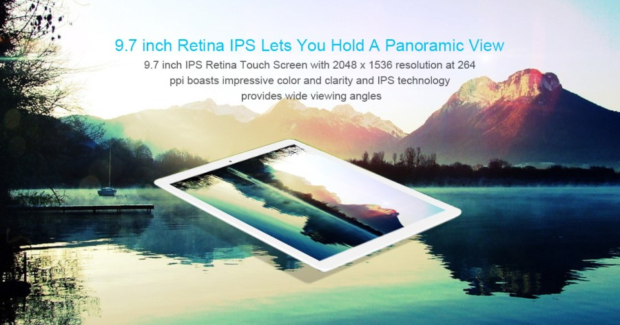 Teclast X98 Plus II 2 in 1 Tablet PC 9.7 inch Windows 10 + Android 5.1 Retina Screen Intel Cherry Trail X5 Z8350 64bit Quad Core 1.44GHz 4GB RAM 64GB ROM HDMI Cameras Bluetooth 4.0